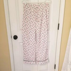 Victoria's Secret flowered pajama pants